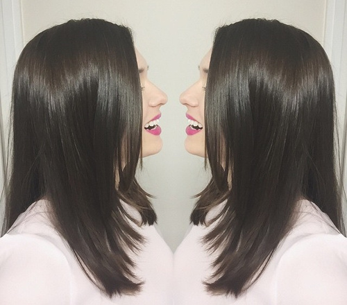 Face-Framing Layered Cut