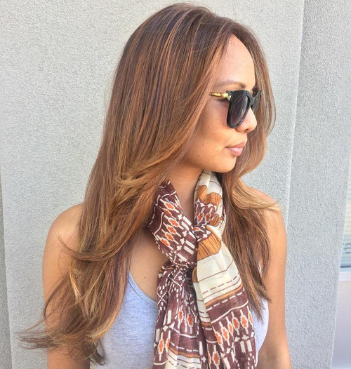 Long Haircut With Face-Framing Layers