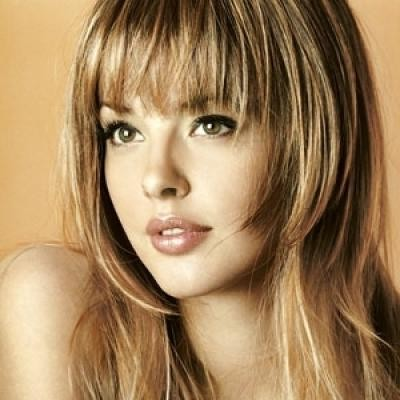 21 Refreshing Variations Of Bangs For Round Faces
