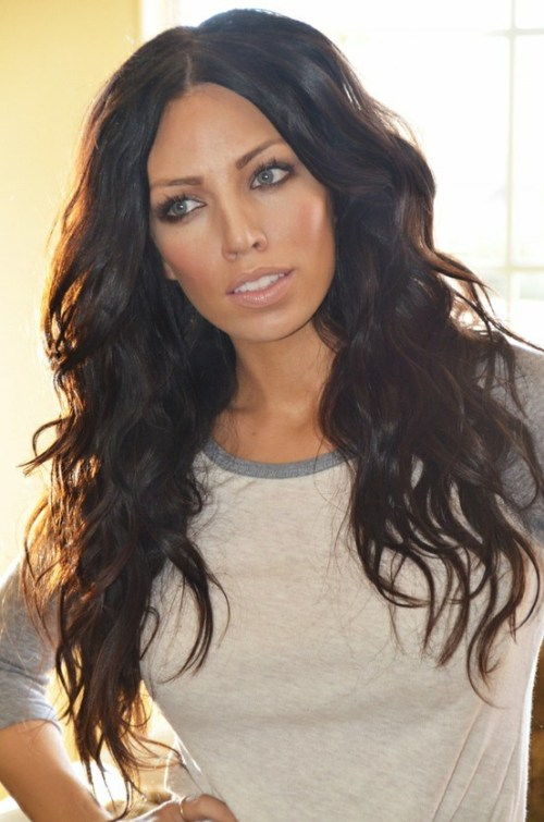 beach waves for long thick hair