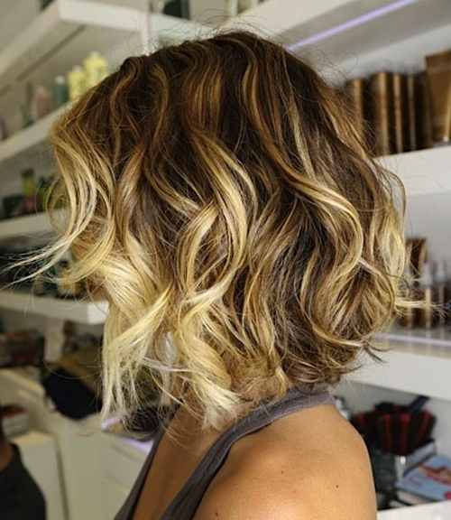 golden blonde ombre hair