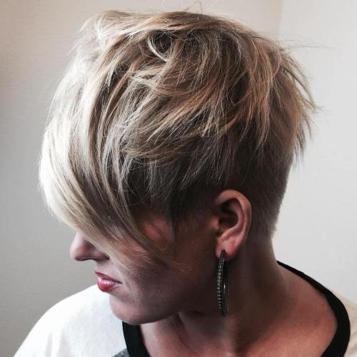 Women's Short Choppy Haircut