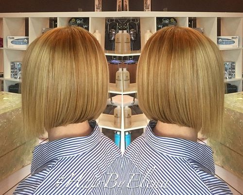 wheat blonde bob