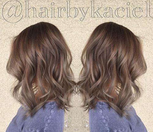 ash brown hair color