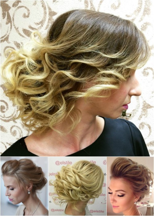 loose curly updos
