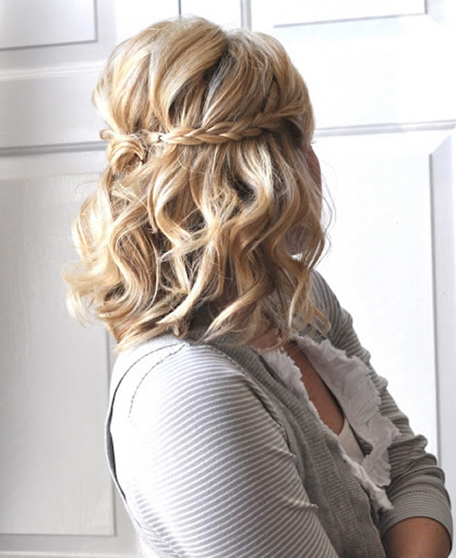 Hairstyles For Short Hair Homecoming : 35 Diverse Homecoming Hairstyles for Short, Medium and Long Hair