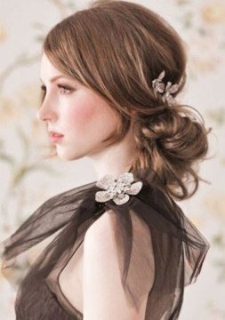 80 easy updo hairstyles for medium length hair