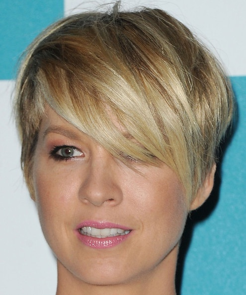 side swept hairstyles for short hair : side-swept bangs for short haircuts
