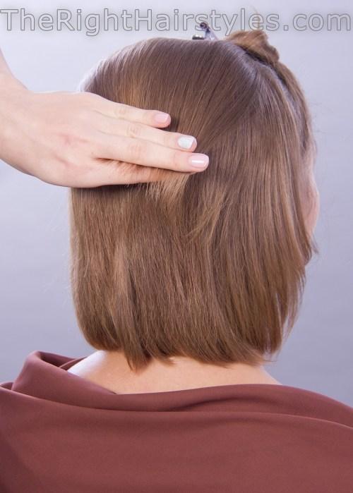 voluminous hairstyle