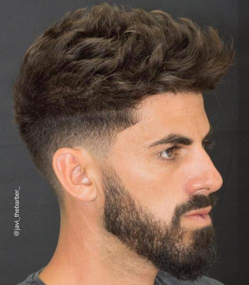 Men's Undercut For Thick Hair