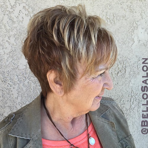 Pleasant The Best Hairstyles And Haircuts For Women Over 70 Hairstyle Inspiration Daily Dogsangcom