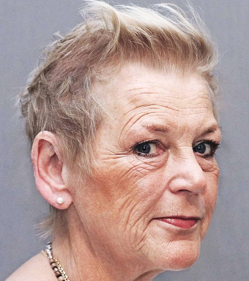 Hairstyles For Short Hair Over 70 : over 70s short haircut