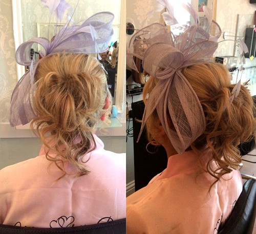 curly pony mother of the bride hairstyle