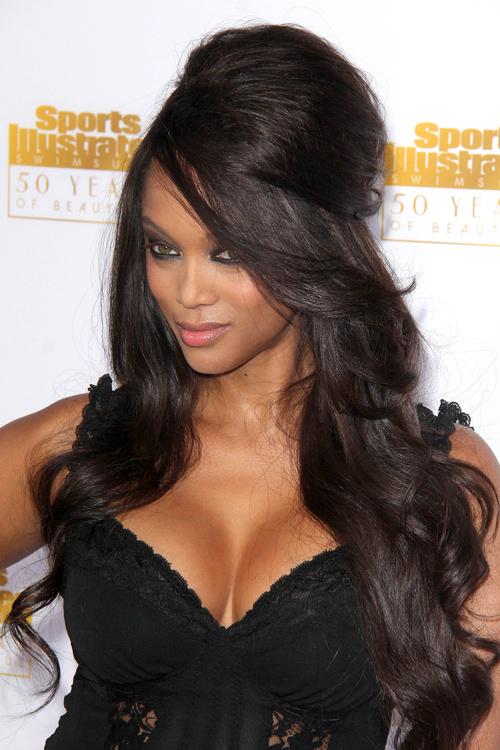Tyra Banks Long Hairstyles