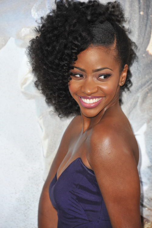 medium natural hairstyles