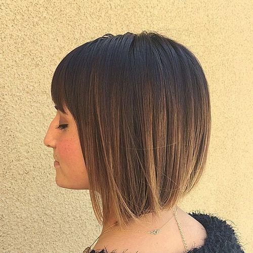 40 Classy Short Bob Haircuts and Hairstyles with Bangs