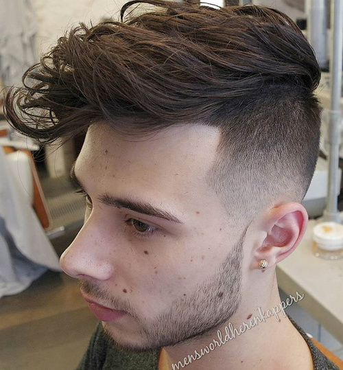 Tribal Undercut Designs For Men