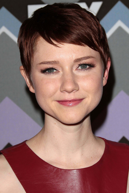 extra short pixie haircut