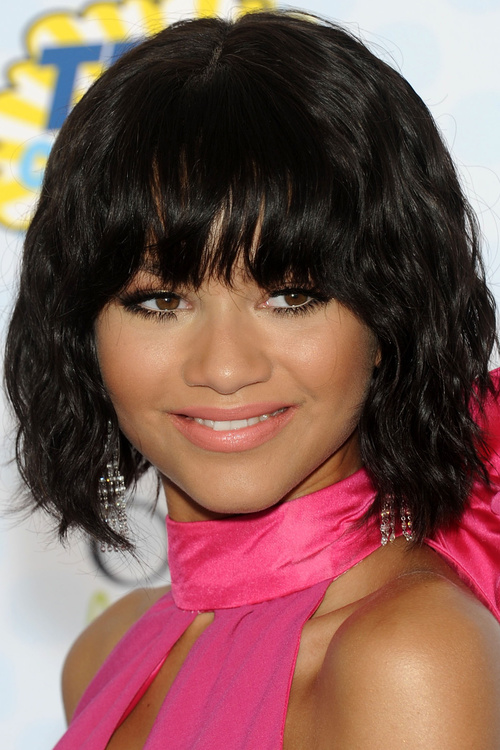 Watch 20 Black Hairstyles With Bangs Oozing Mismatched Chic video