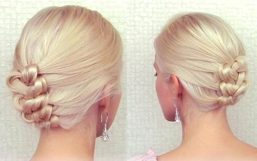 knot-braided homecoming updo