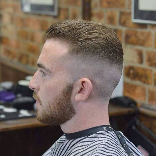 Skin Fade For Receding Hairline
