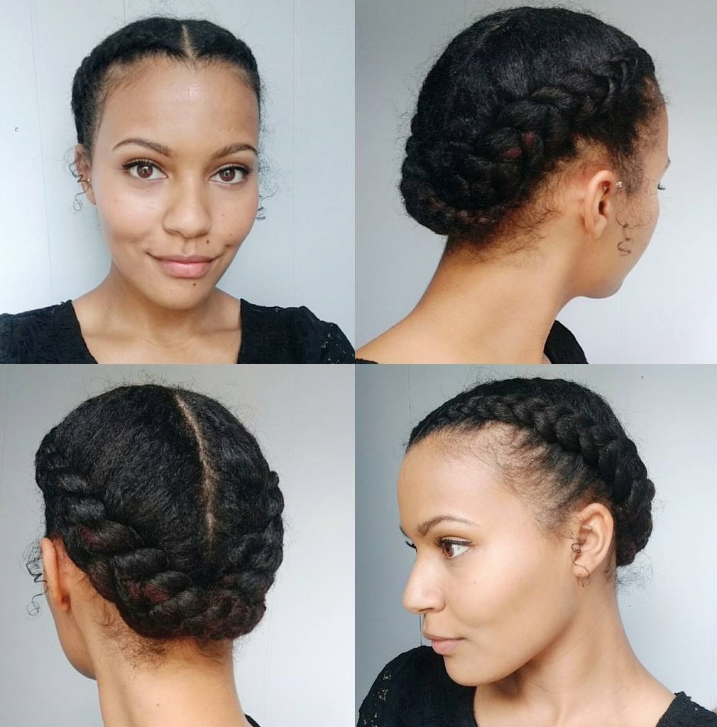 50 Updo Hairstyles for Black Women Ranging from Elegant to Eccentric pictures
