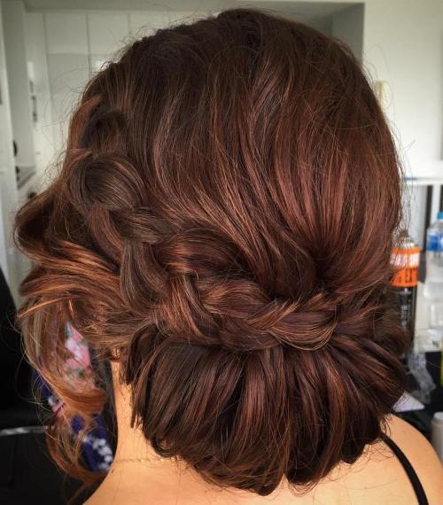 Gibson Tuck Updo With A Braid