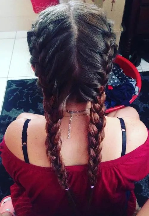 2 strand twist hairstyles : 40 Two French Braid Hairstyles for Your Perfect Looks