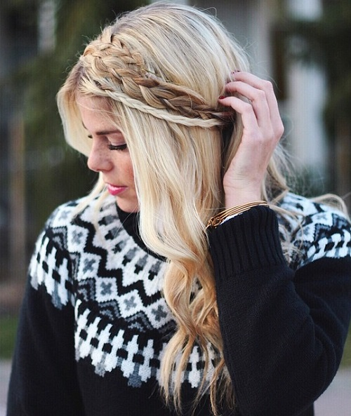 Three Braids Headband
