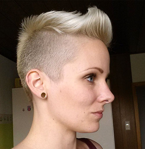 pixie with undercuts