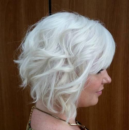 40 banging blonde bobs - Bob silberblond ...