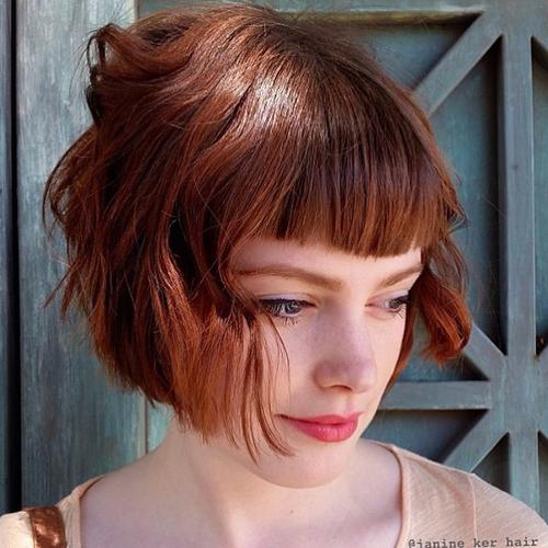 gorgeous wavy bob hairstyles