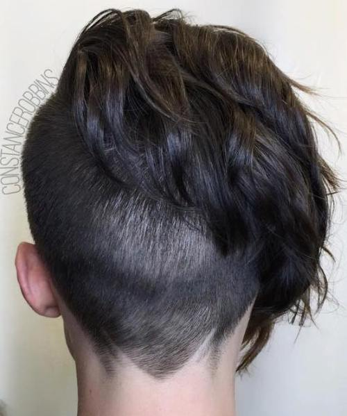 Short Asymmetrical Undercut Hairstyle