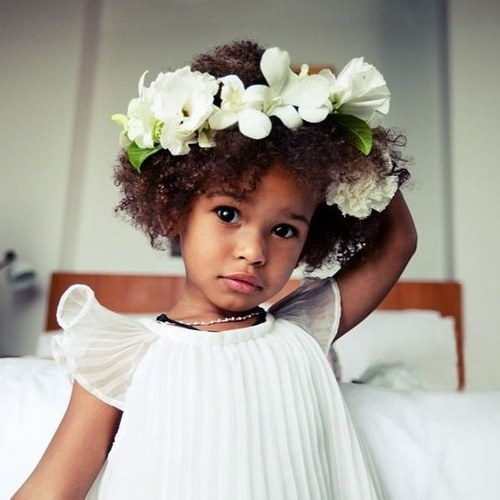 Lil Black Girl Hairstyles For Wedding : Flawless flower girl hairstyles