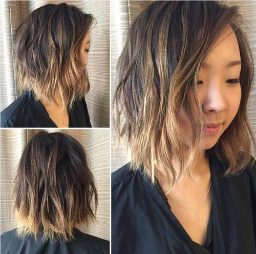 45 Balayage Hair Color Ideas Perfect Balayage On Dark