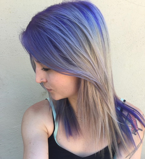 40 cool ideas of lavender ombre hair and purple ombre - Ombre et air ...
