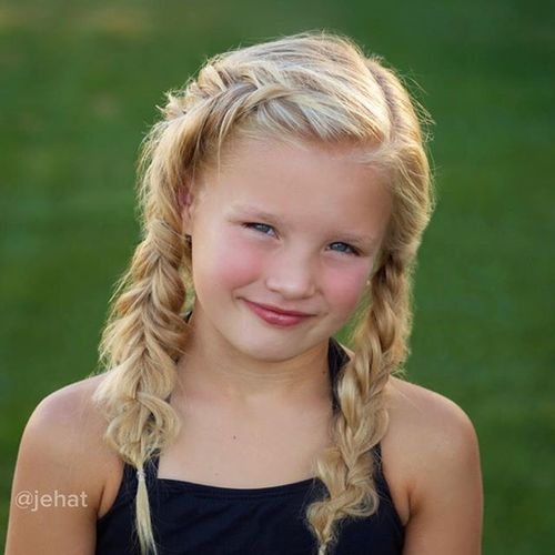 20 Adorable Braided Hairstyles for Girls
