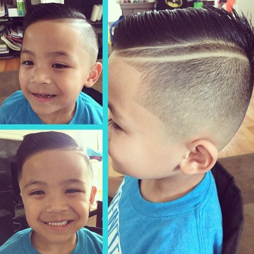 how to cut 6 month boy hair style