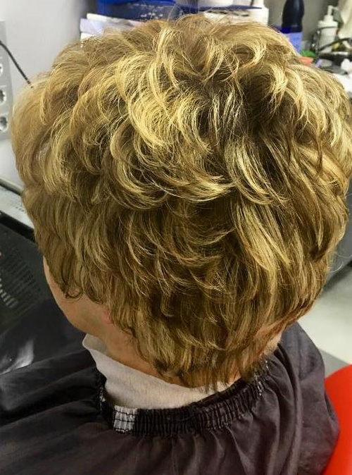 short perm hairstyle