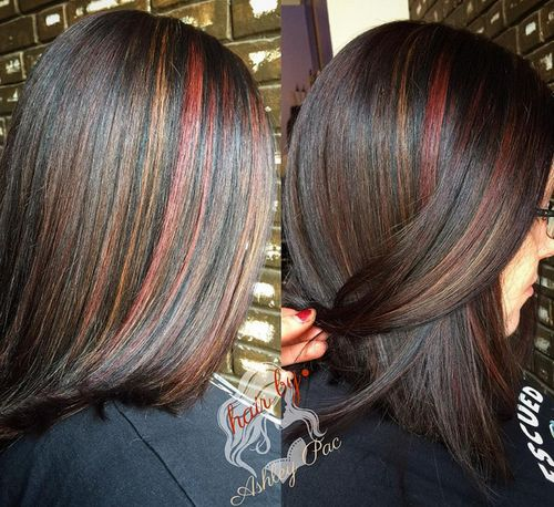 Dark brown hair color highlight ideas hair color highlighting dark brown hair with subtle highlights pmusecretfo Gallery