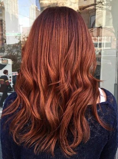 chestnut hair color idea