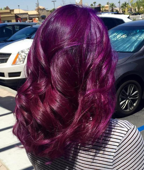 Dark purple hair dye top 3 dark purple hair dye product for Shades of dark purple