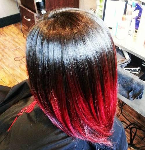25 Vivid Ideas For Black Ombre Hair