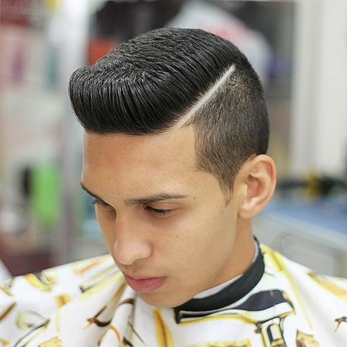 polished formal flat top hairstyle