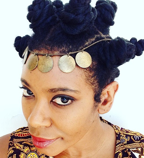 Bantu Knots For Longer Hair