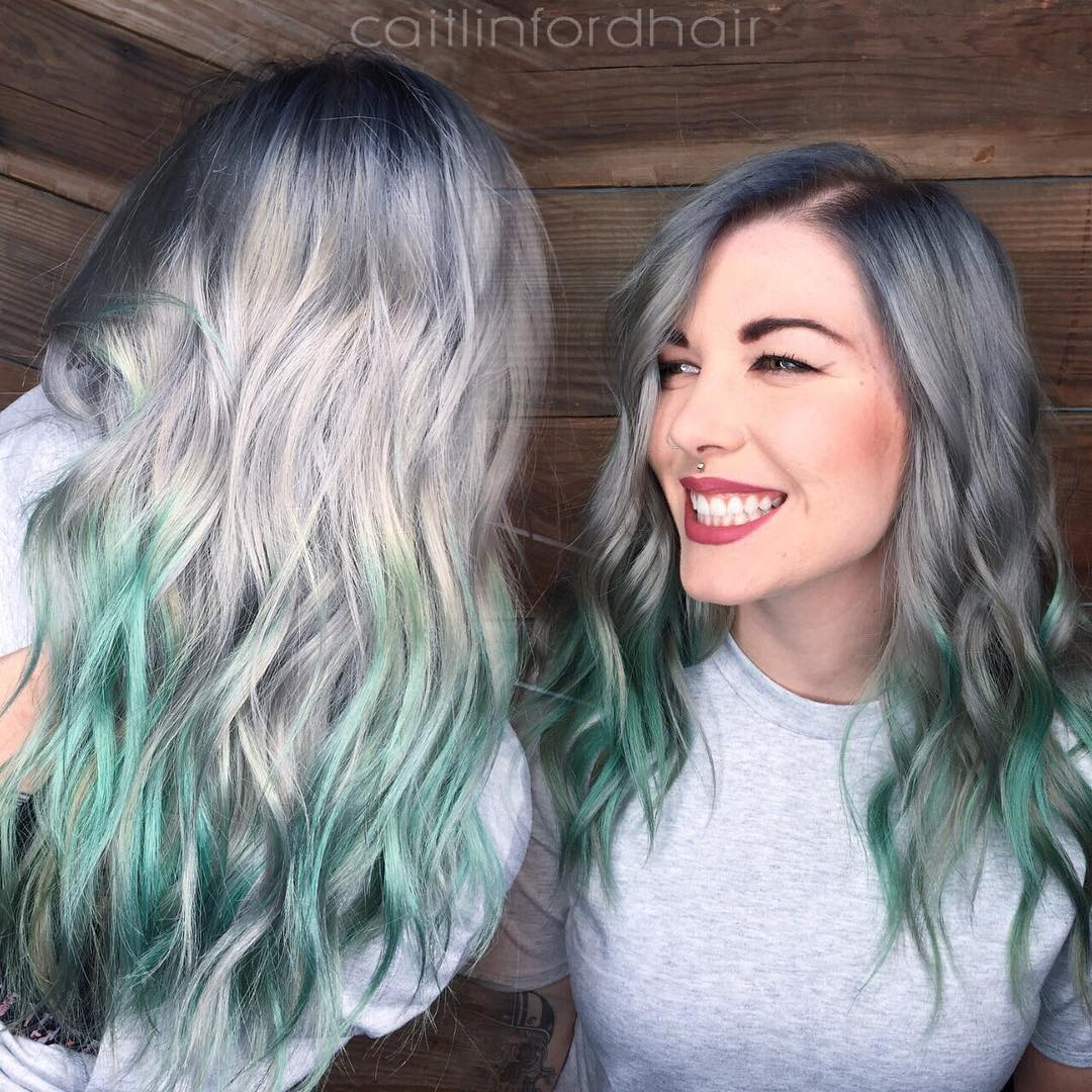 Blend Gray Hair With Highlights Hairstylegalleries Com