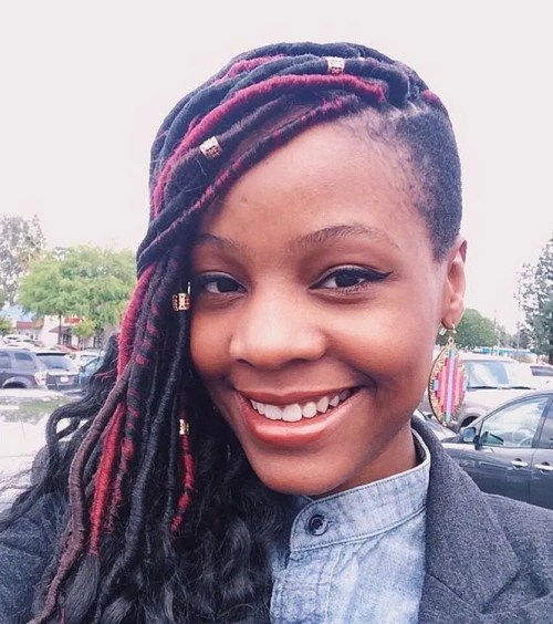Faux Locs And Side Undershave