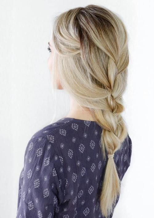 Loose Braid Hairstyle