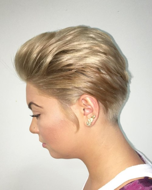 Party Hairstyle For Short Hair