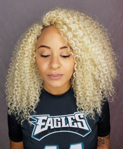 Crochet Hair Blonde : 20 Cool Crochet Braids for Your Inspiration